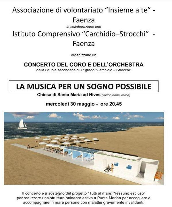 30 maggio… Santa Maria ad Nives, Faenza, il concerto