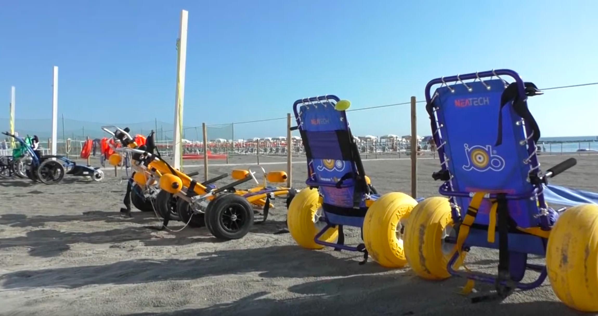 Ravenna: Una spiaggia attrezzata per la disabilità a Punta Marina [Video – da Settesere.it]