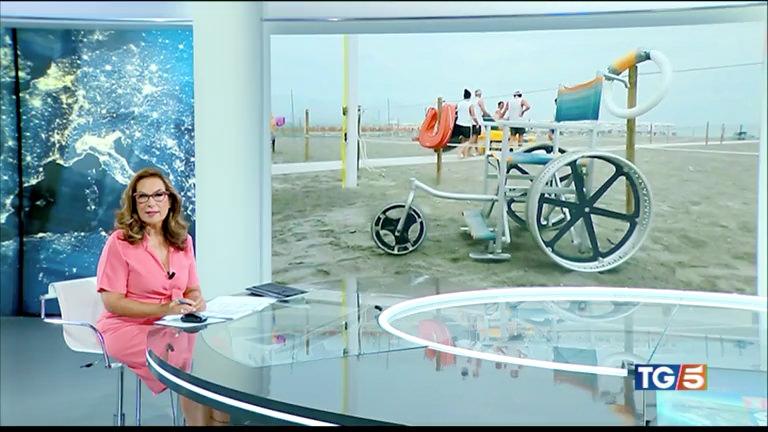 """Servizi del TG5 e Studio Aperto sulla spiaggia """"Insieme a Te"""""""
