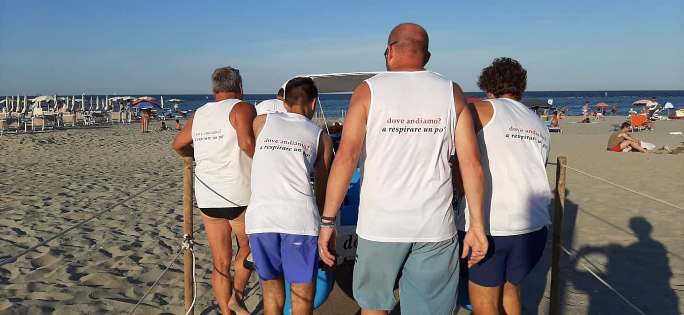 """Una spiaggia accessibile a tutti: """"insieme a te """" di Punta Marina"""