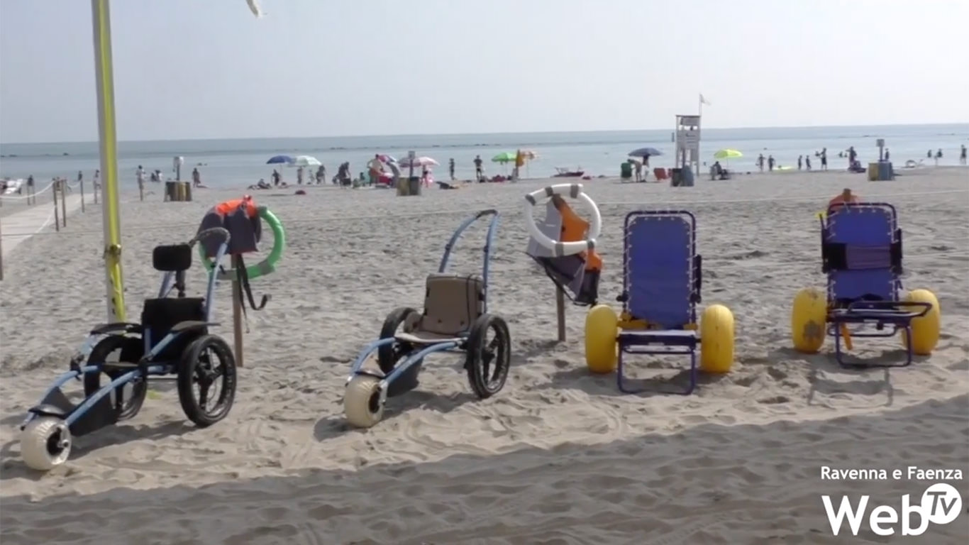 Tutti al mare, nessuno escluso:si lavora per aprire stabilimento balneare per persone con disabilità [Video – RavennaWebTv]