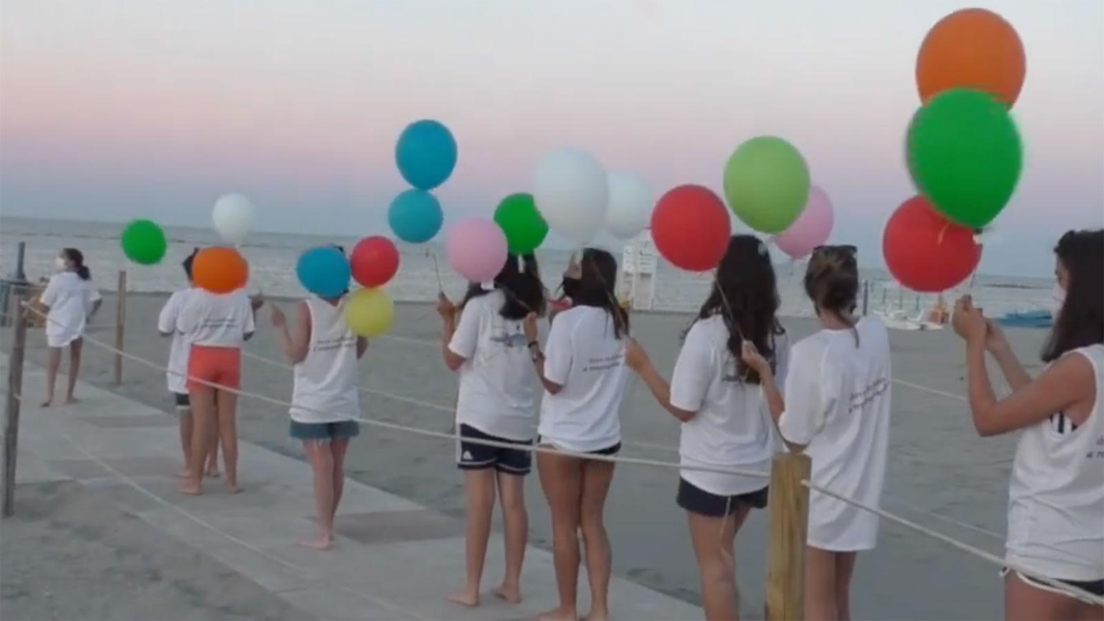 Inaugurazione spiaggia Insieme a Te – 9 luglio 2020 [Video da RavennaWebTv]