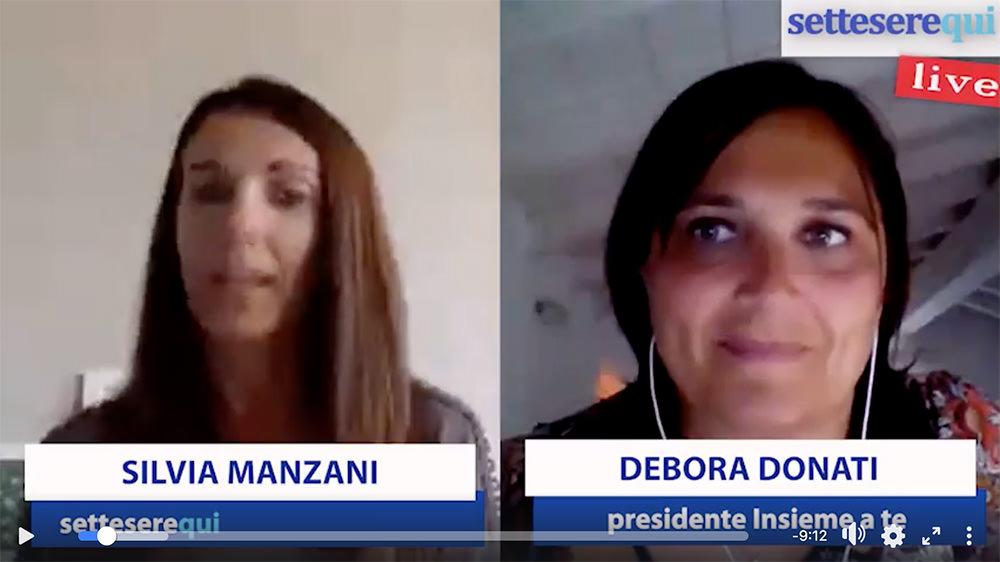 Silvia Manzani (Settesere) intervista Debora Donati (Video)