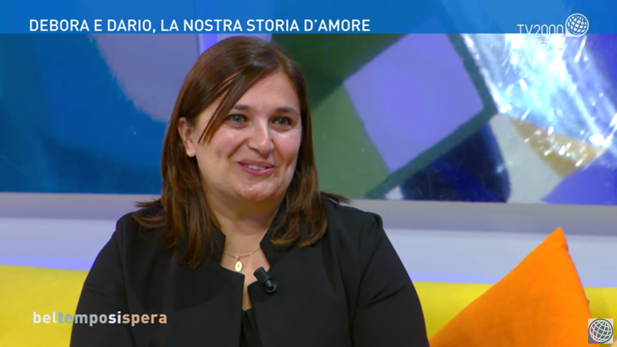 La Presidente dell'Ass. Insieme a Te, Debora Donati, ospite di Bel tempo si spera su TV 2000 [Video]