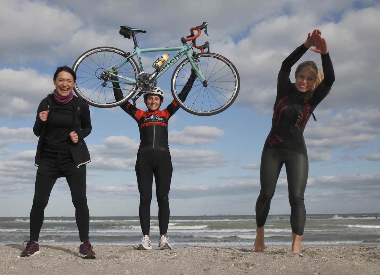 'Tri for Three', tre Iron Women per Insieme a Te